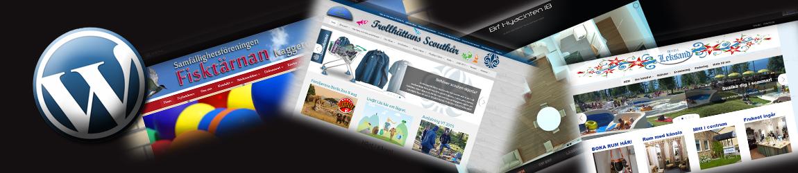 Behöver du en ny hemsida?